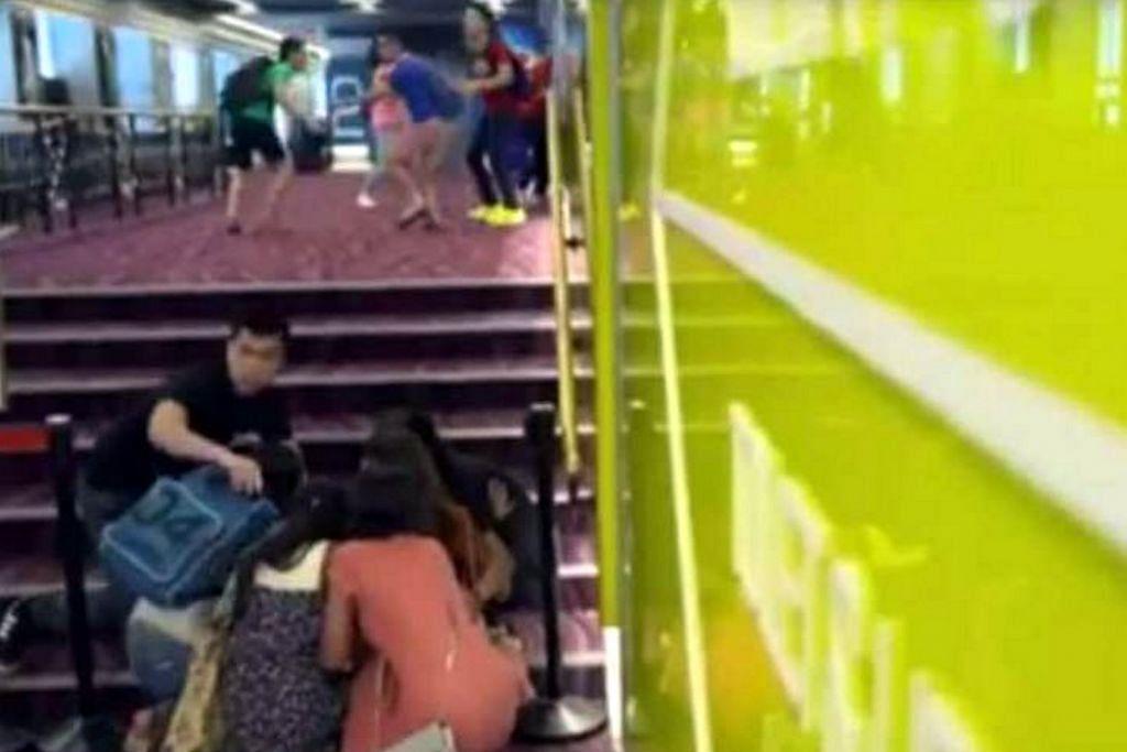Video polis ajar cara bertindak jika berlaku serangan ganas