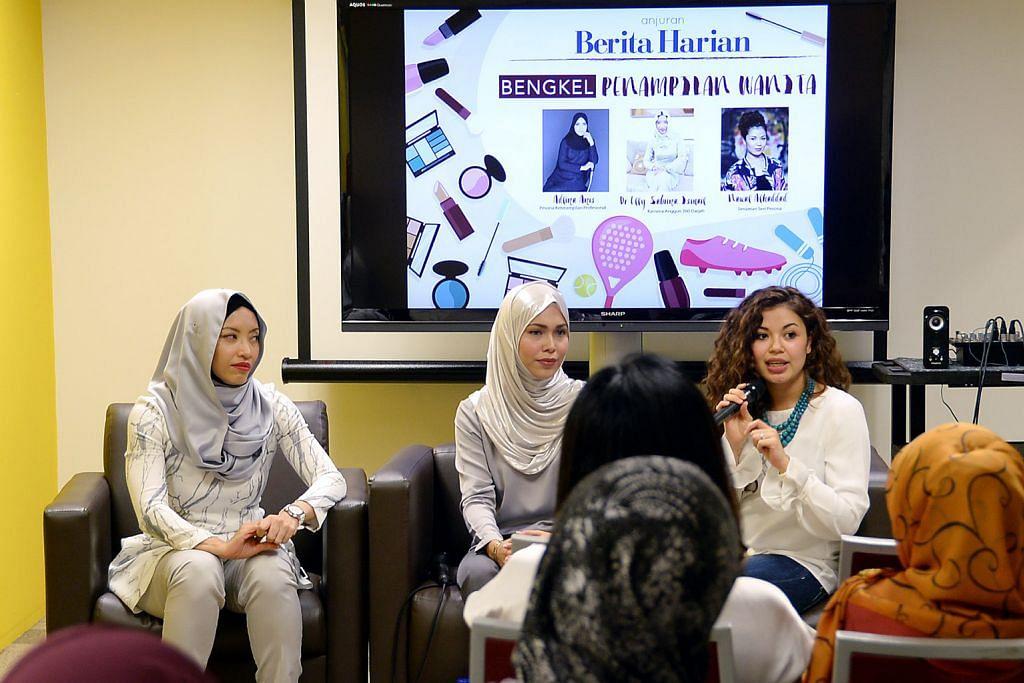 Dr Elly kongsi panduan tangani kesihatan wanita BENGKEL PENAMPILAN WANITA BERITA HARIAN