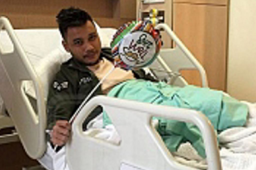 Awi Rafael cedera dalam kemalangan motosikal