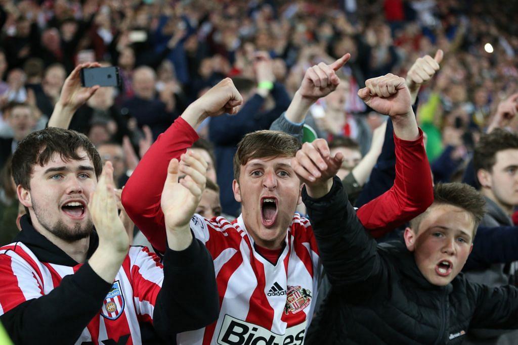 Sunderland kekal dalam liga