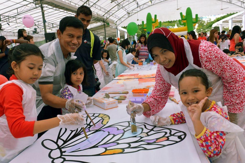 Lebih 3,000 seronok di pesta pembelajaran di Tampines