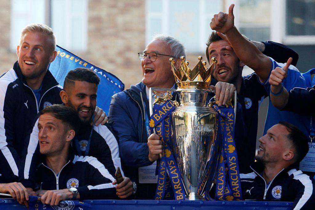 Ranieri dinobat Pengurus Terbaik