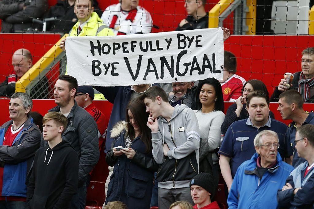 LIGA PERDANA ENGLAND Van Gaal yakin terus bersama United