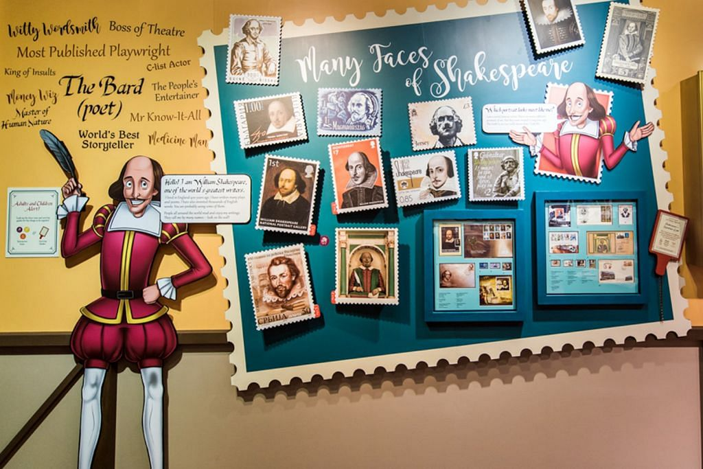 Jejak kisah Shakespeare dalam setem