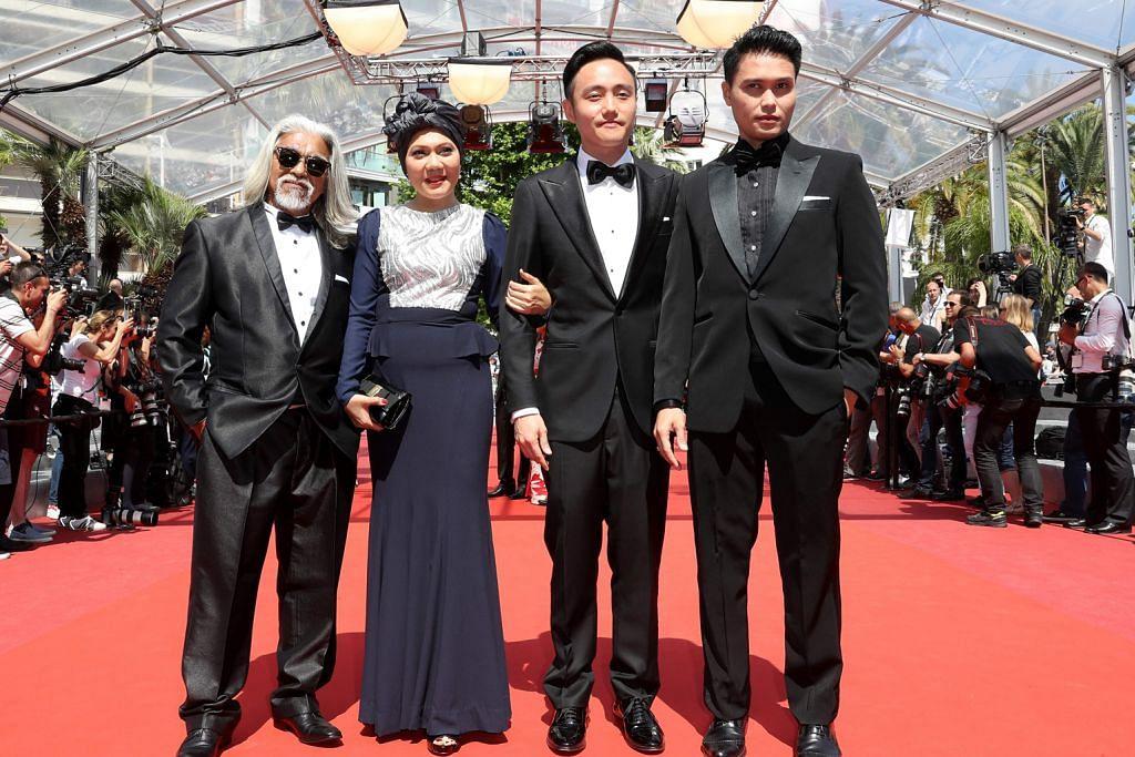 Permaidani merah bagi Mastura dan Firdaus di Cannes