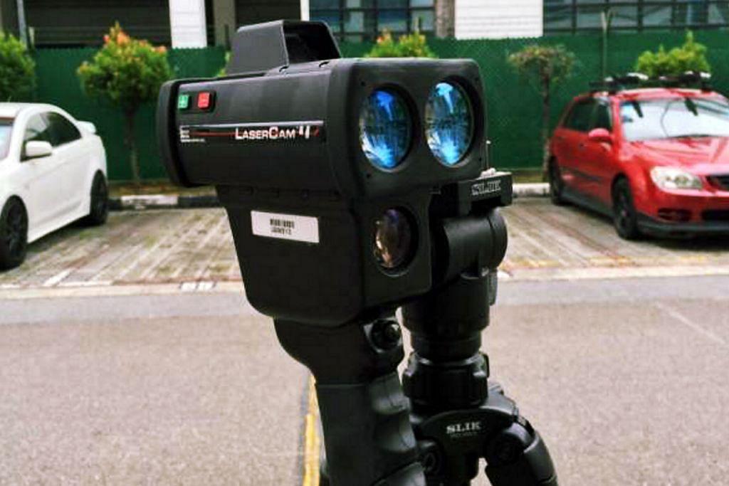 Polis Trafik perkenal kamera laser baru di 44 tempat