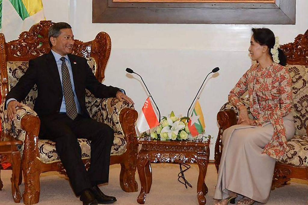 S'pura, Myanmar rancang kerjasama pelaburan