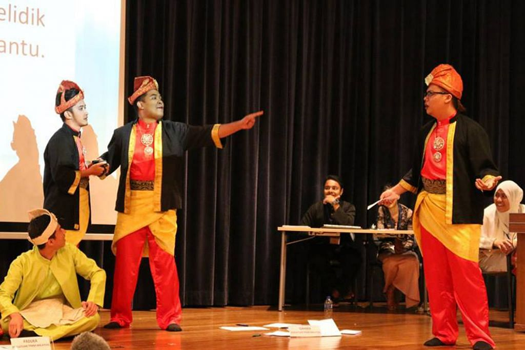 Persatuan Bahasa Melayu NUS martabatkan khazanah budaya melalui Pesta Pantun