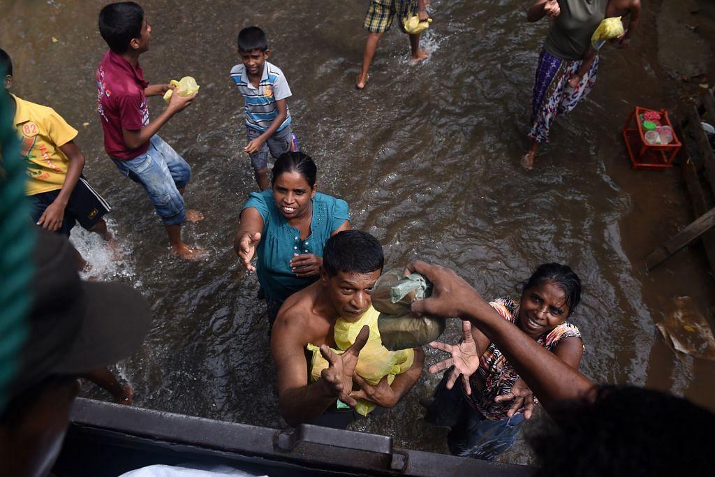 Singapura derma $137,000 bantu mangsa banjir Sri Lanka