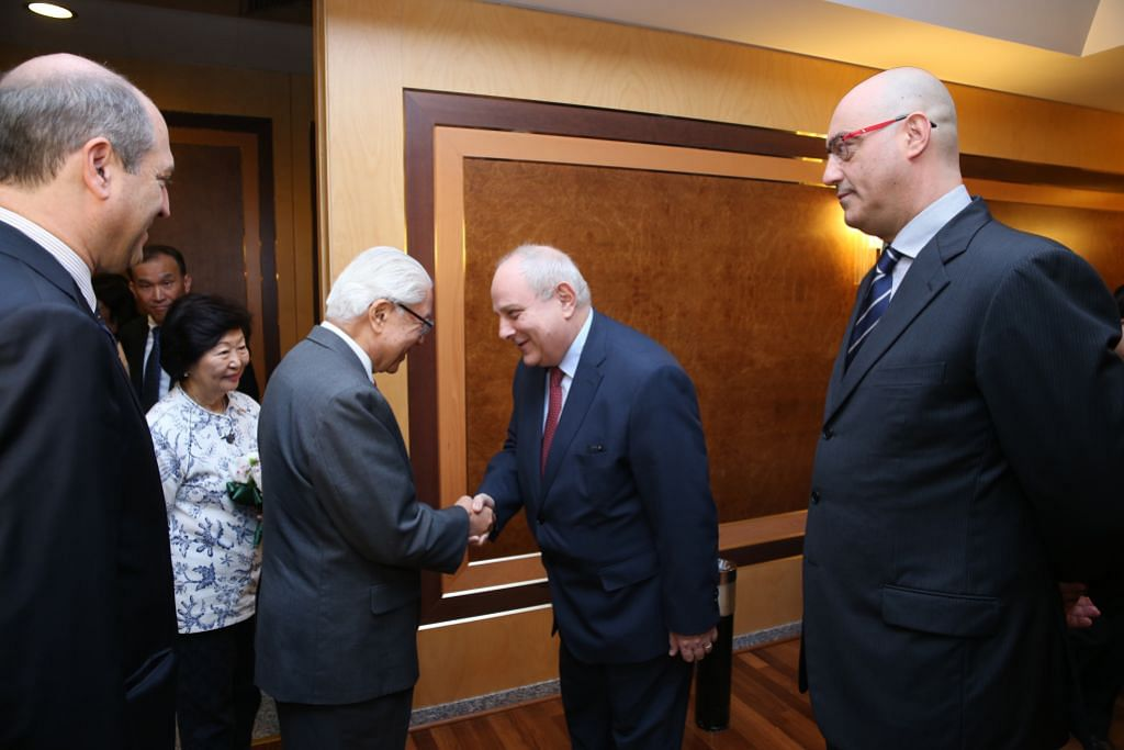 Presiden Tony Tan tiba di Italy