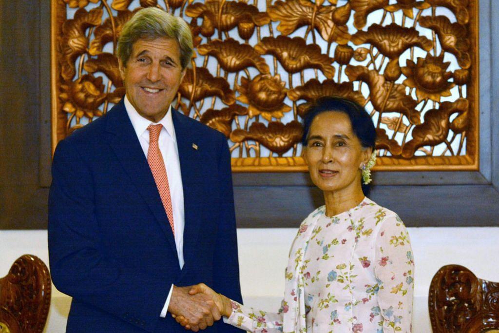Suu Kyi minta AS ruang bagi selesaikan isu Rohingya