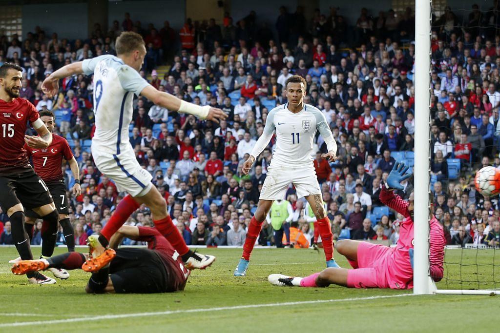 MENJELANG EURO 2016 Gol minit akhir Vardy selamatkan England