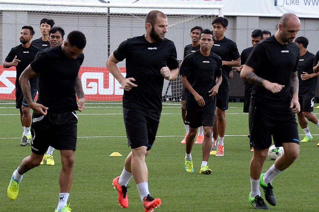 PIALA AFC Tampines dijangka sukar lawan kelab India