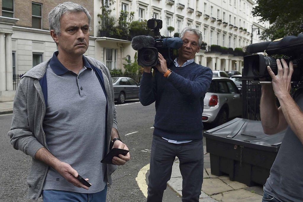 BOLA SEPAK ENGLAND Impian terpendam Mourinho jadi nyata