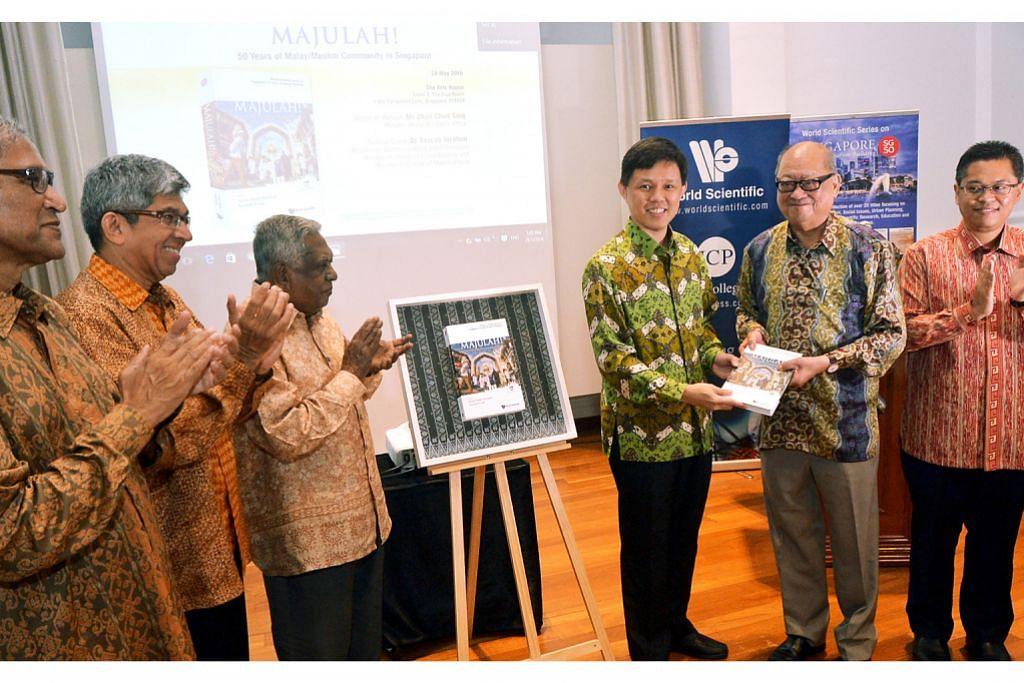 Sumbangan masyarakat Melayu dibukukan