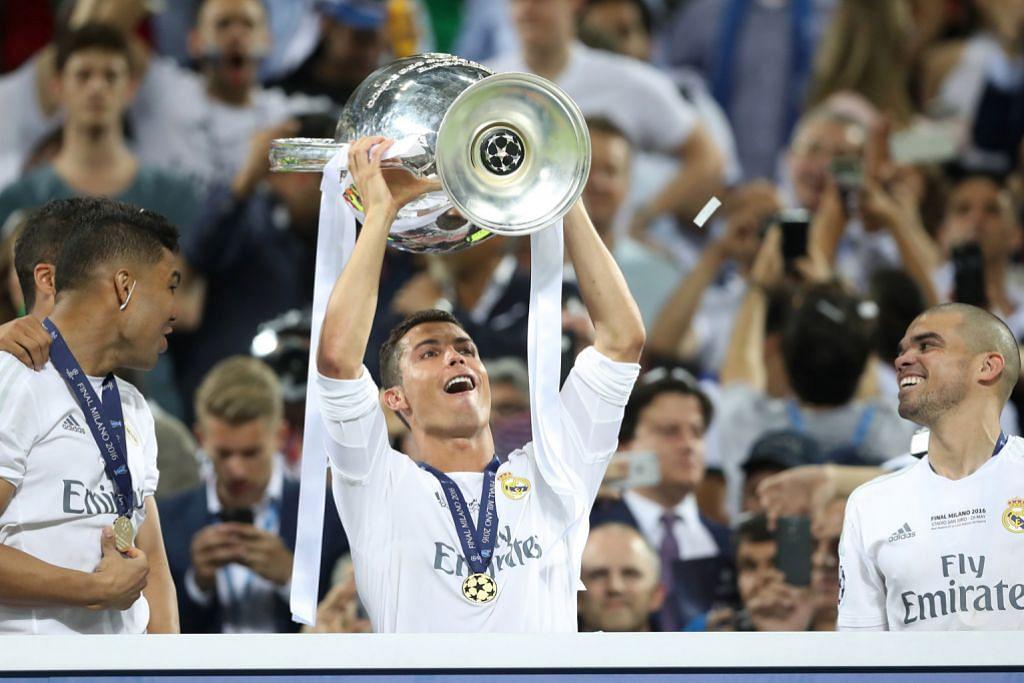 Malam luar biasa buat Ronaldo LIGA JUARA-JUARA