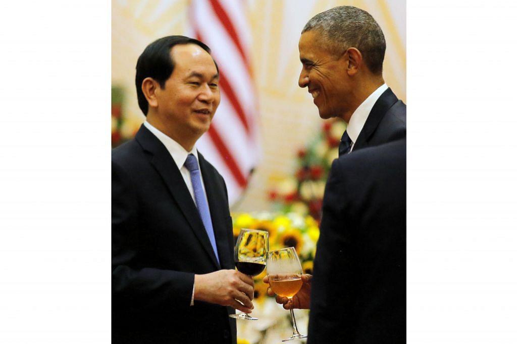 Rintis jalan hubungan baik AS-Vietnam