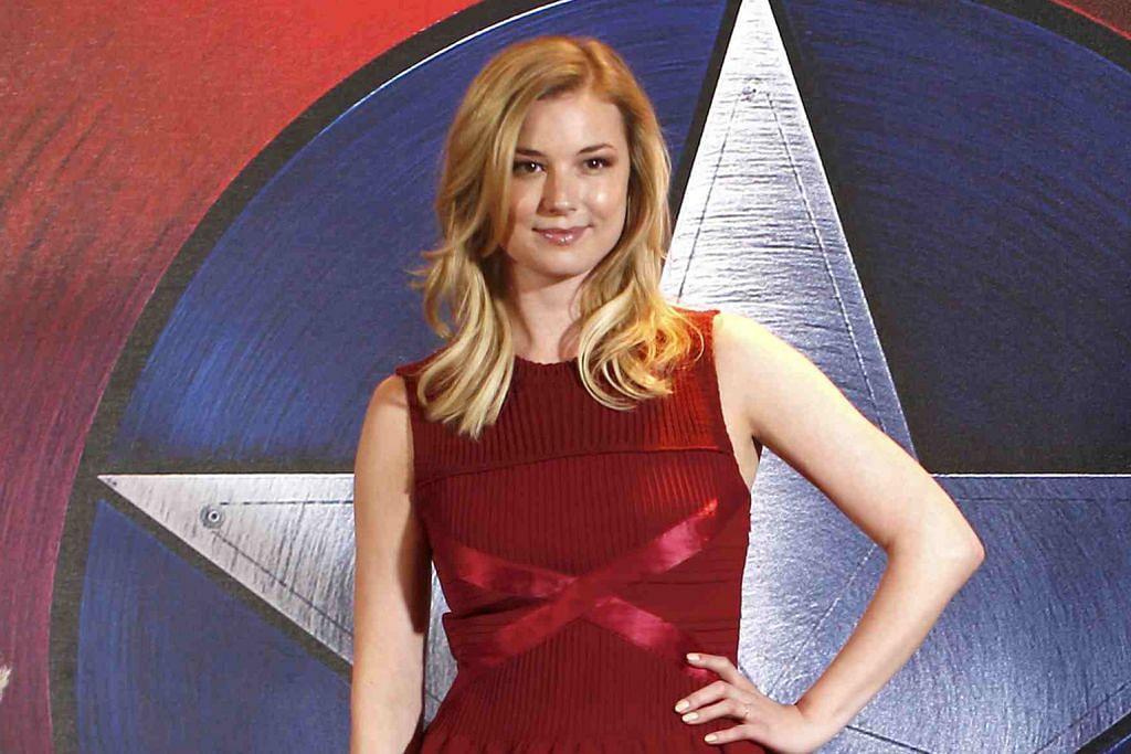 Emily seronok berlakon dalam 'Captain America'