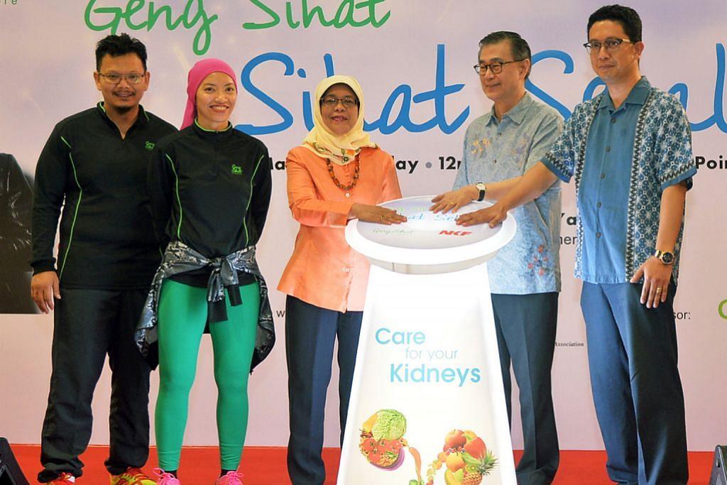 ACARA GENG SIHAT SG Ubah minda jalani gaya hidup sihat