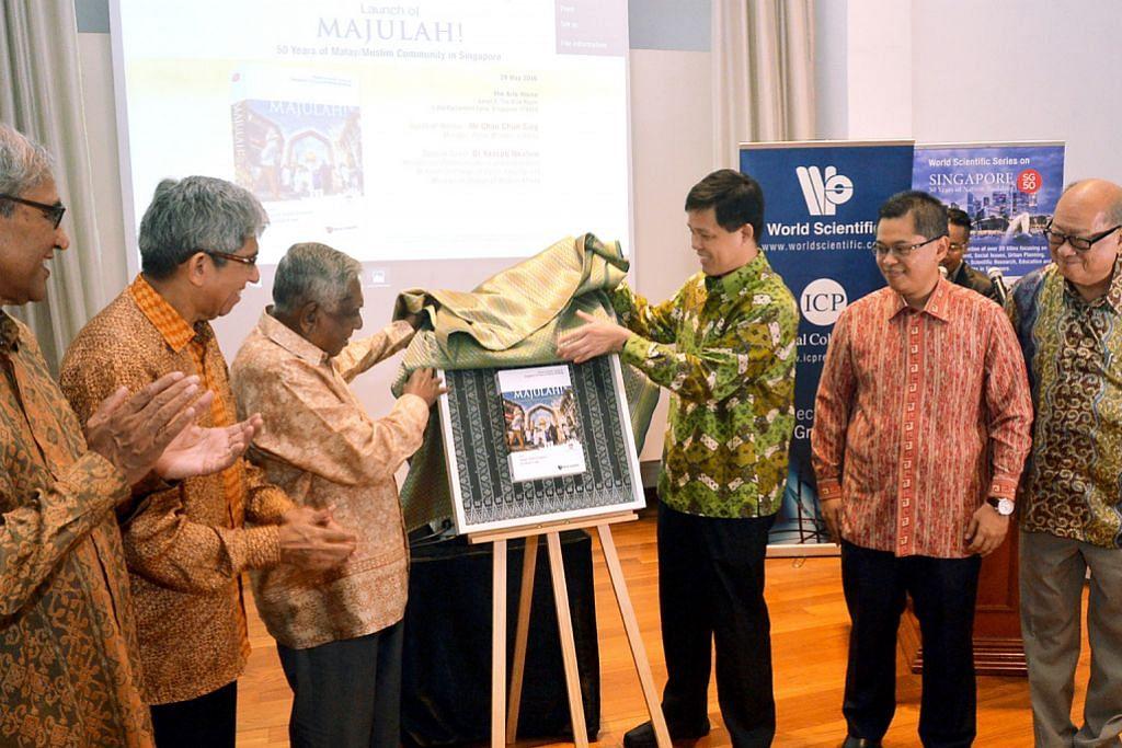 Melayu/Islam adalah sebahagian daripada sejarah S'pura
