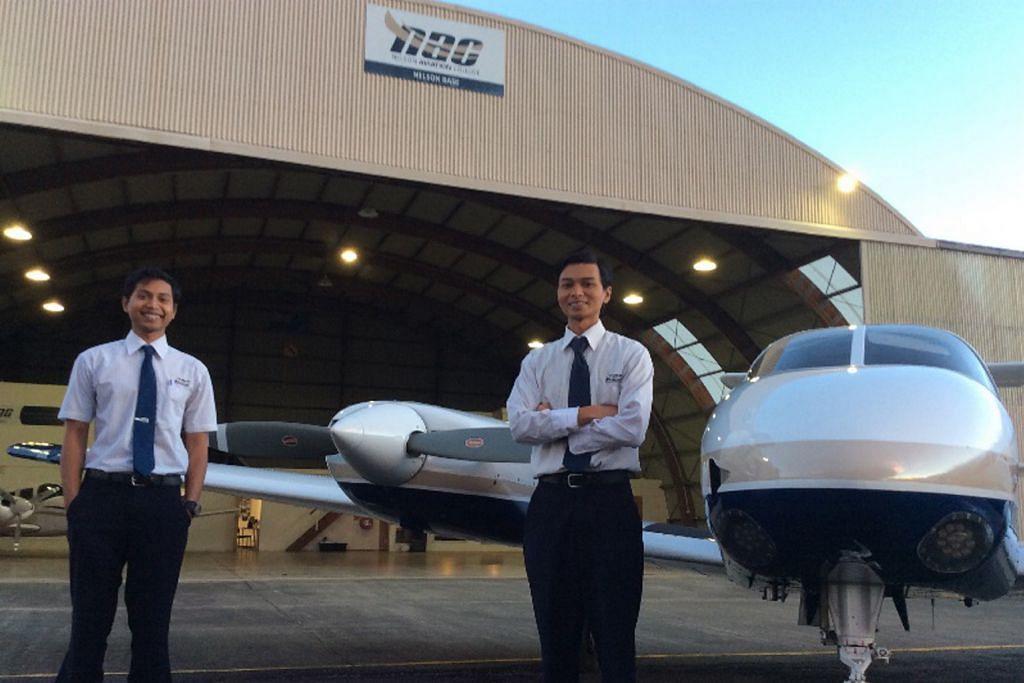 Adik-beradik kongsi minat jadi juruterbang
