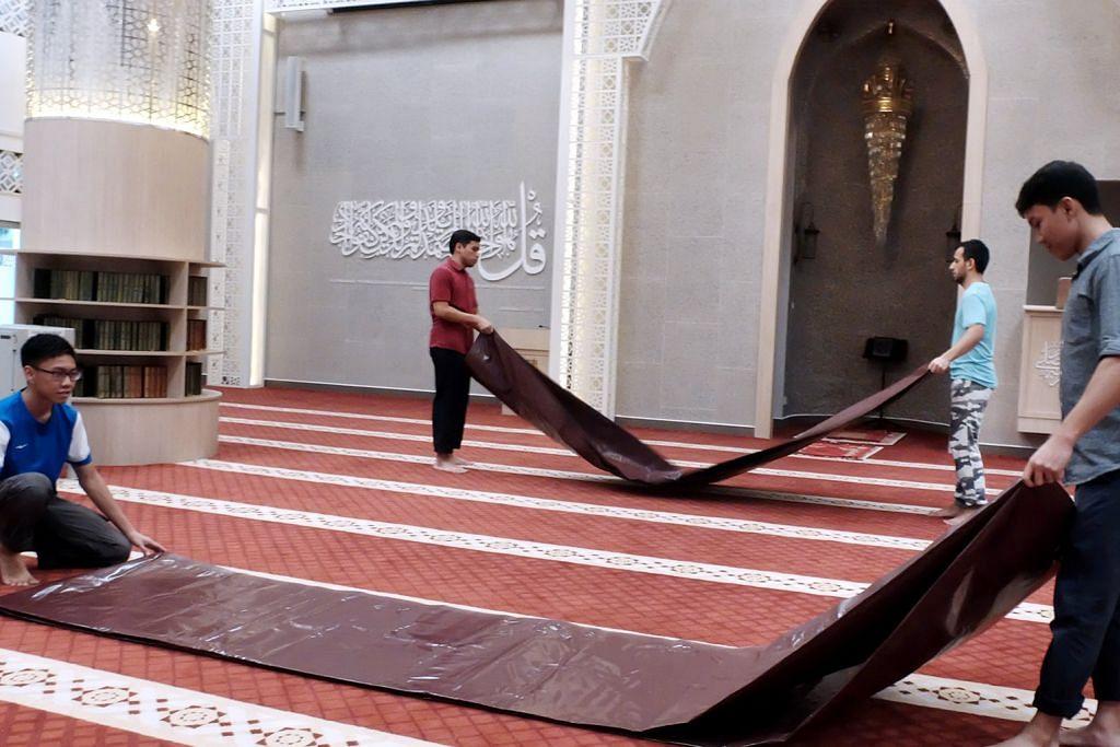 Masjid siap pastikan jemaah selesa beribadah