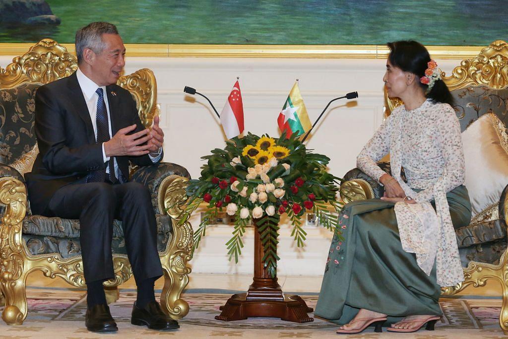 Pengecualian visa bagi lawatan singkat SG-Myanmar