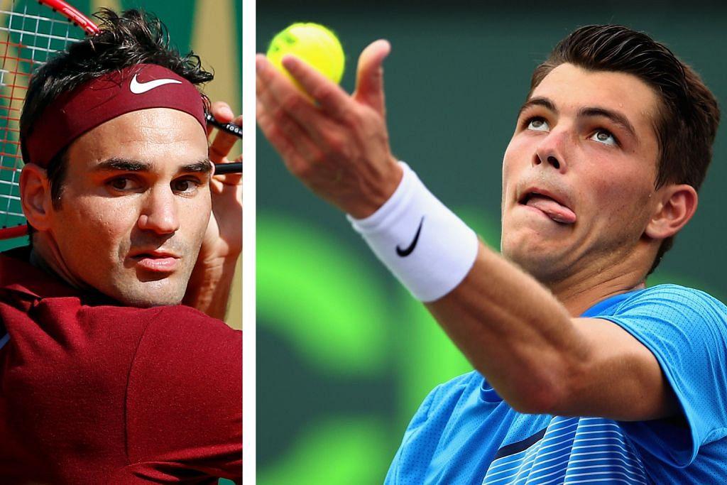 TENIS Taylor Fritz jaya tempah pertemuan dengan Federer