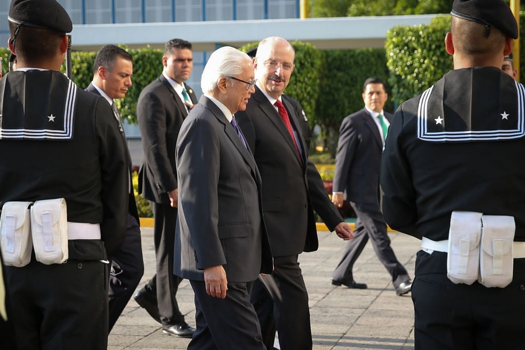Presiden Tony Tan lawat Mexico