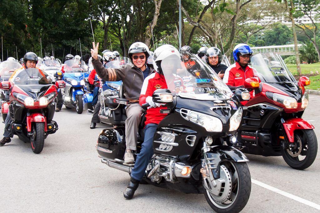 SEKITAR RAMADAN Hari Raya Charity Ride berjaya kumpul derma $6,000