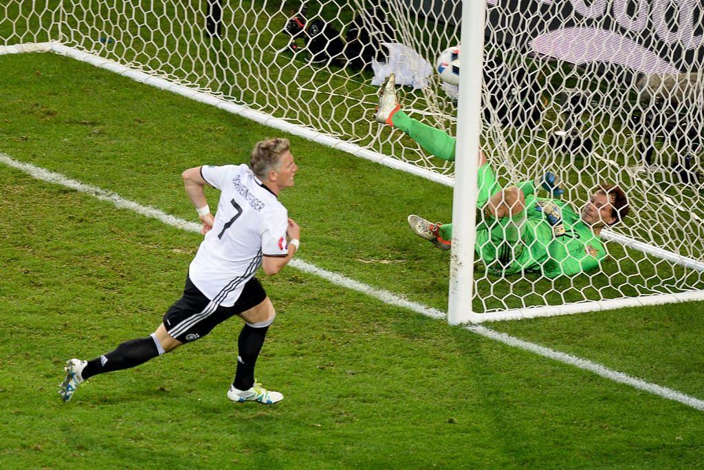 Tak segagah dulu tetapi Jerman tetap menang
