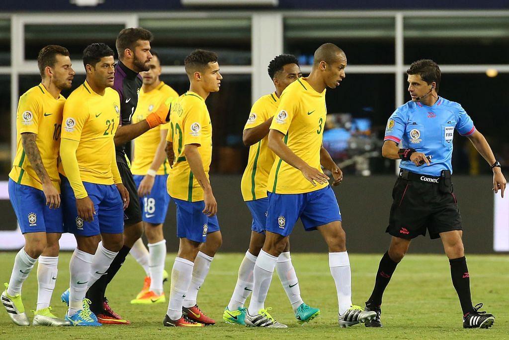 Brazil tersingkir dalam perlawanan kontroversial COPA AMERICA