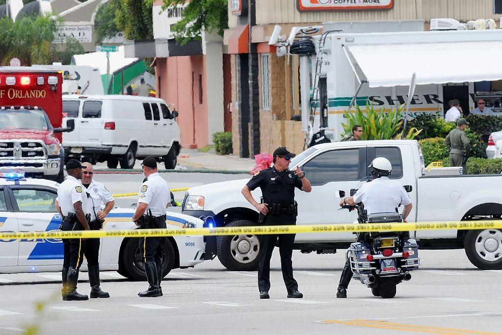 SERANGAN DI ORLANDO Obama kutuk pembunuhan ramai
