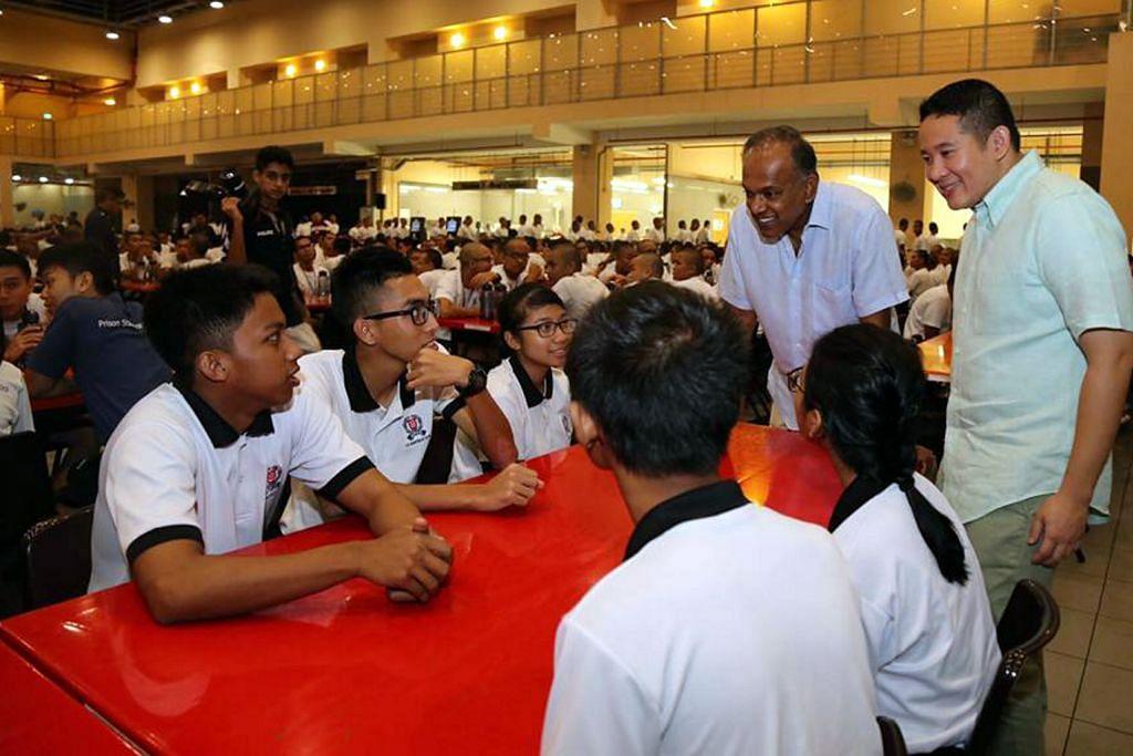 Shanmugam, Amrin sertai sahur di Akademi Home Team