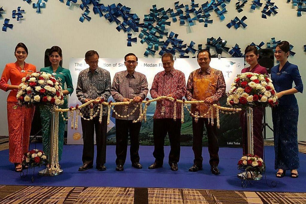 Garuda terbang semula antara Singapura dengan Medan