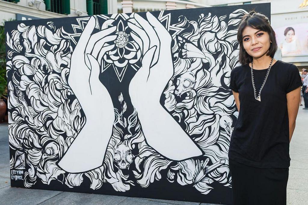 Papar ikatan masyarakat melalui lukisan grafiti