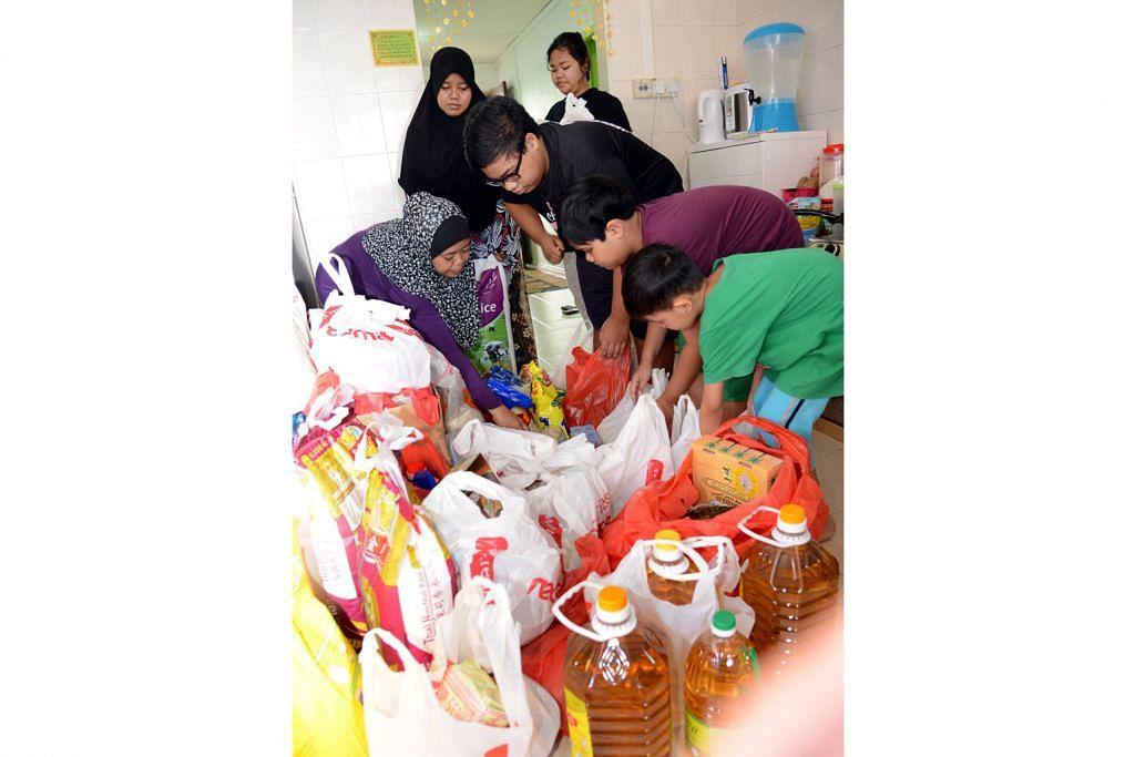 MANGSA LANGGAR LARI DI JOHOR BAHRU Bantuan keperluan dapur lebih daripada mencukupi