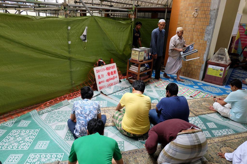 Lagi 40% kerja naik taraf Masjid Al-Muttaqin perlu dijalankan