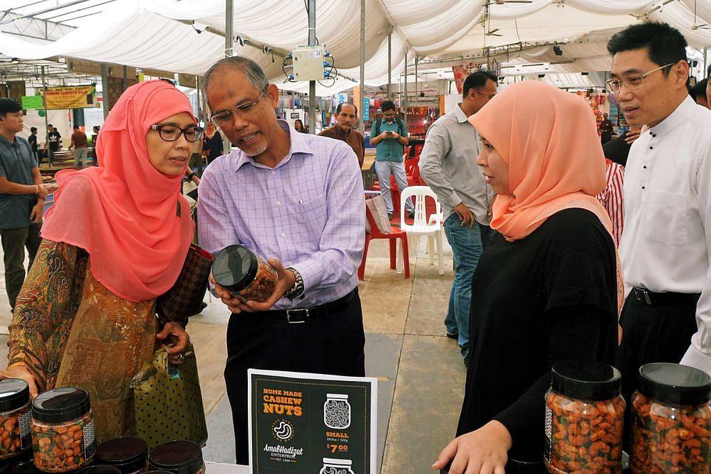 EKONIAGA: SEKITAR RAMADAN Keunikan bazar di Tampines