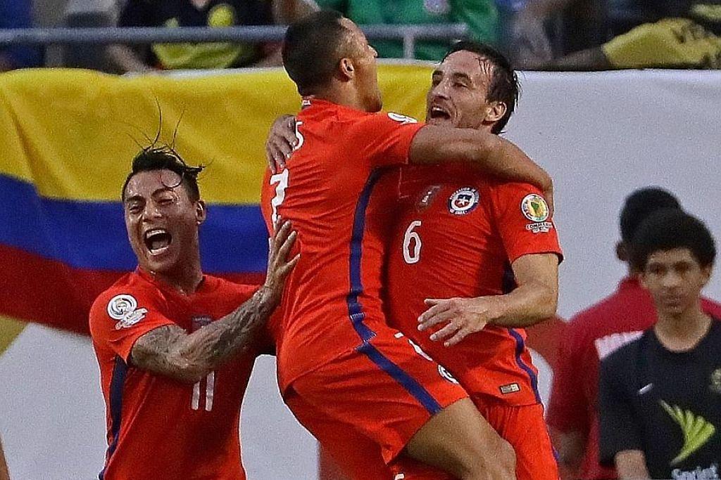 COPA AMERIKA Chile mara ke final