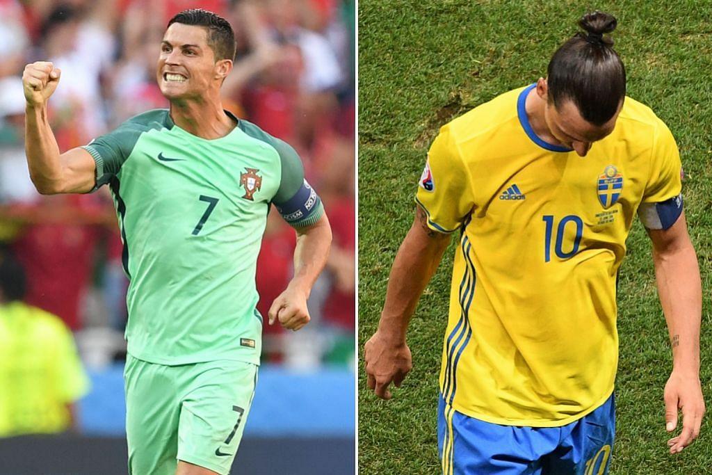 EURO 2016 PANDANGAN Ronaldo mara, Ibrahimovic merana...