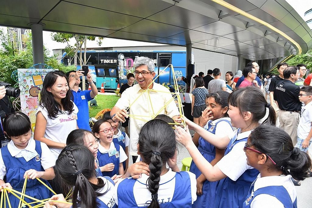 Yaacob: Pupuk minat mencipta agar Singapura kekal luar biasa