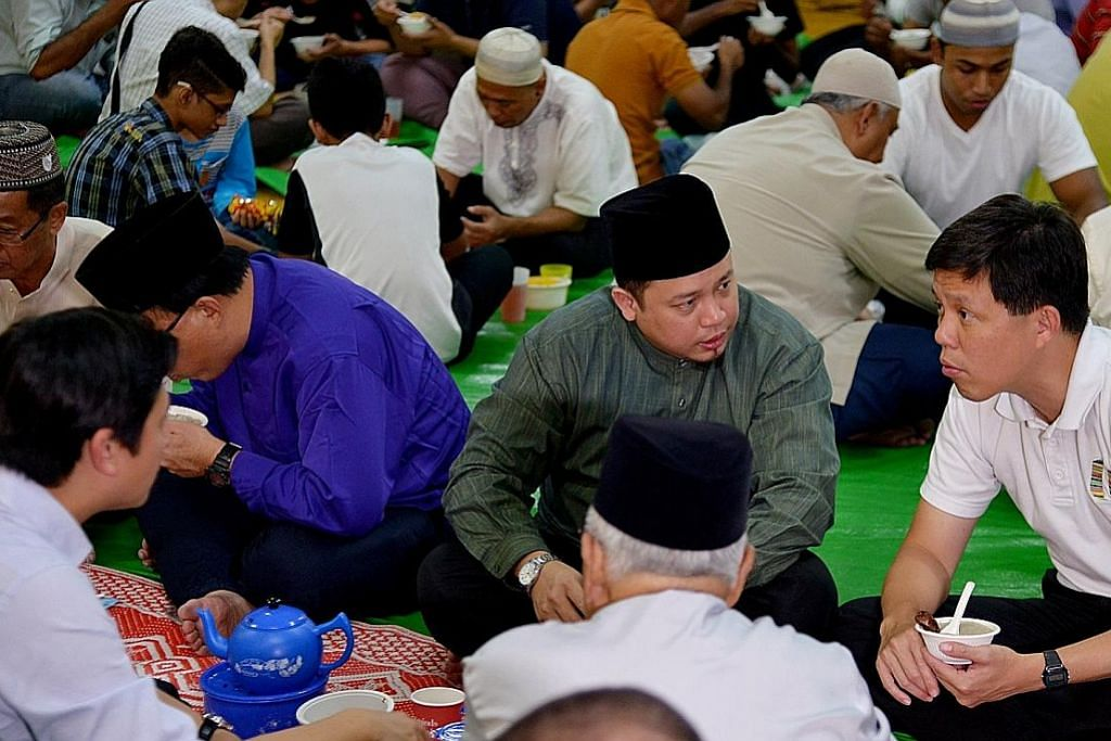 Iftar terap mesra alam di Mujahidin