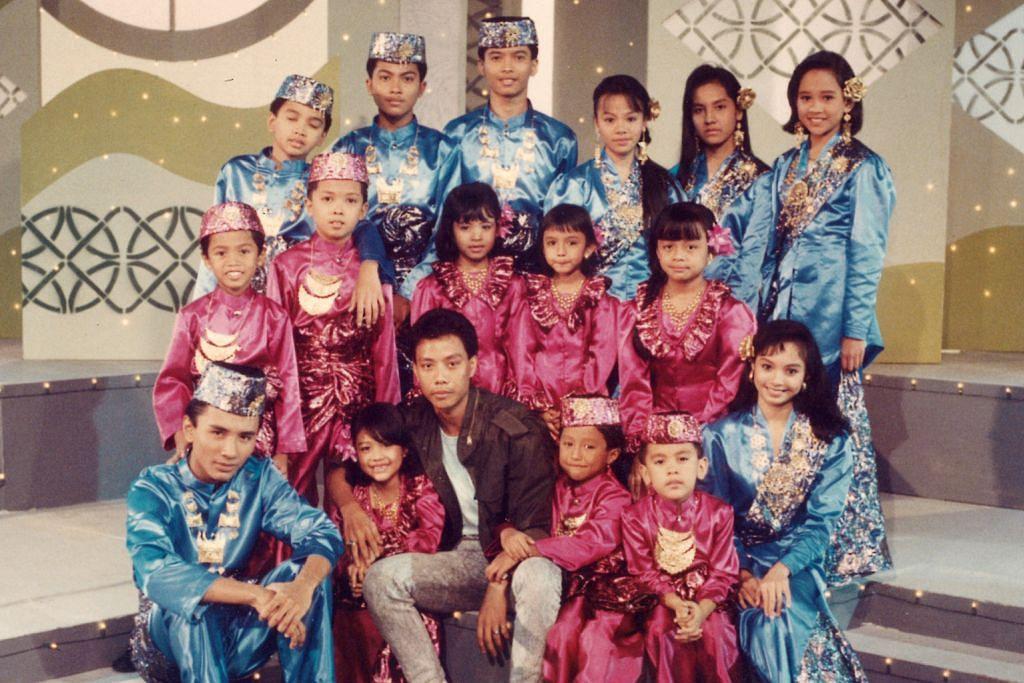 Terpegun lihat penyanyi Sudirman MEMORI DI TV