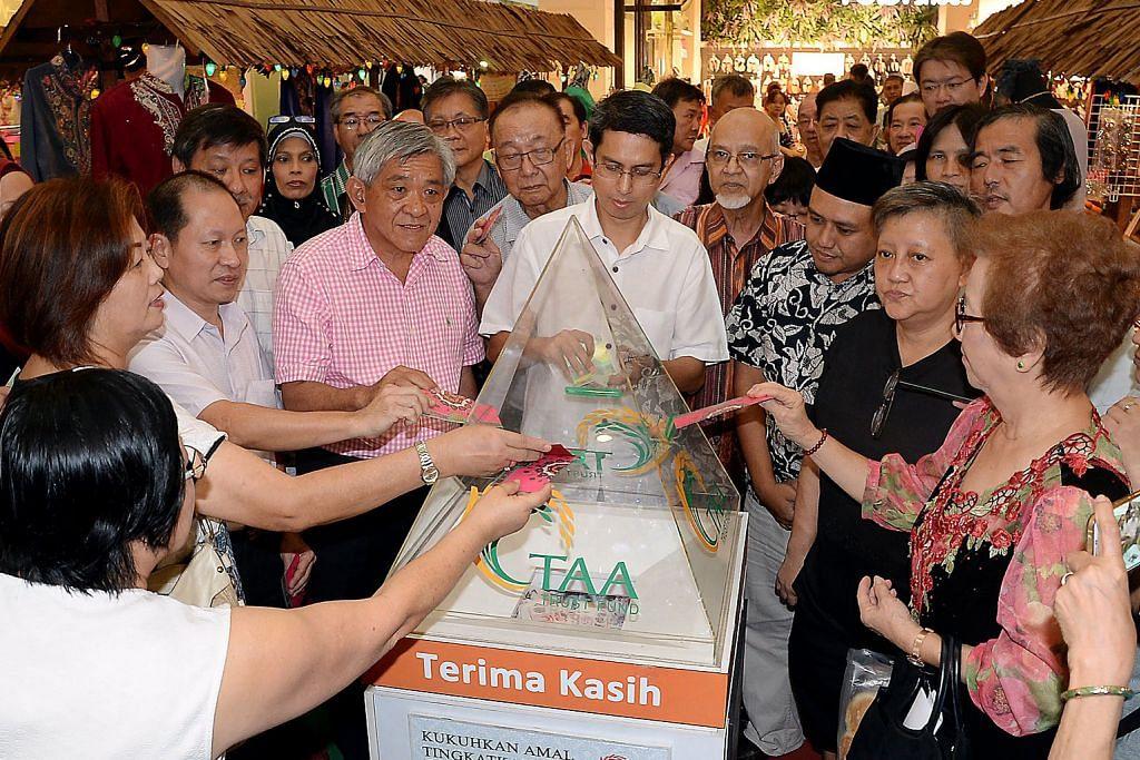 Faishal galak penduduk Yishun bantu TAA