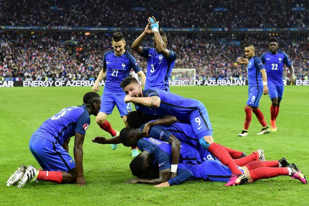 Perancis akhiri laluan 'Cinderella' Iceland EURO 2016