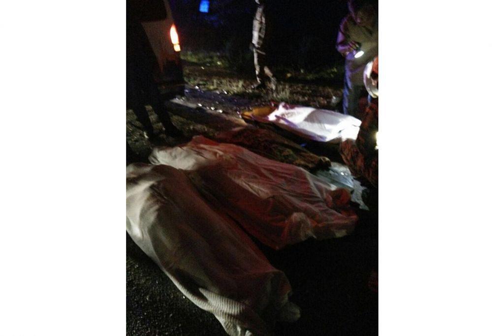 Tujuh ahli keluarga maut dalam nahas jalan raya di Kelantan