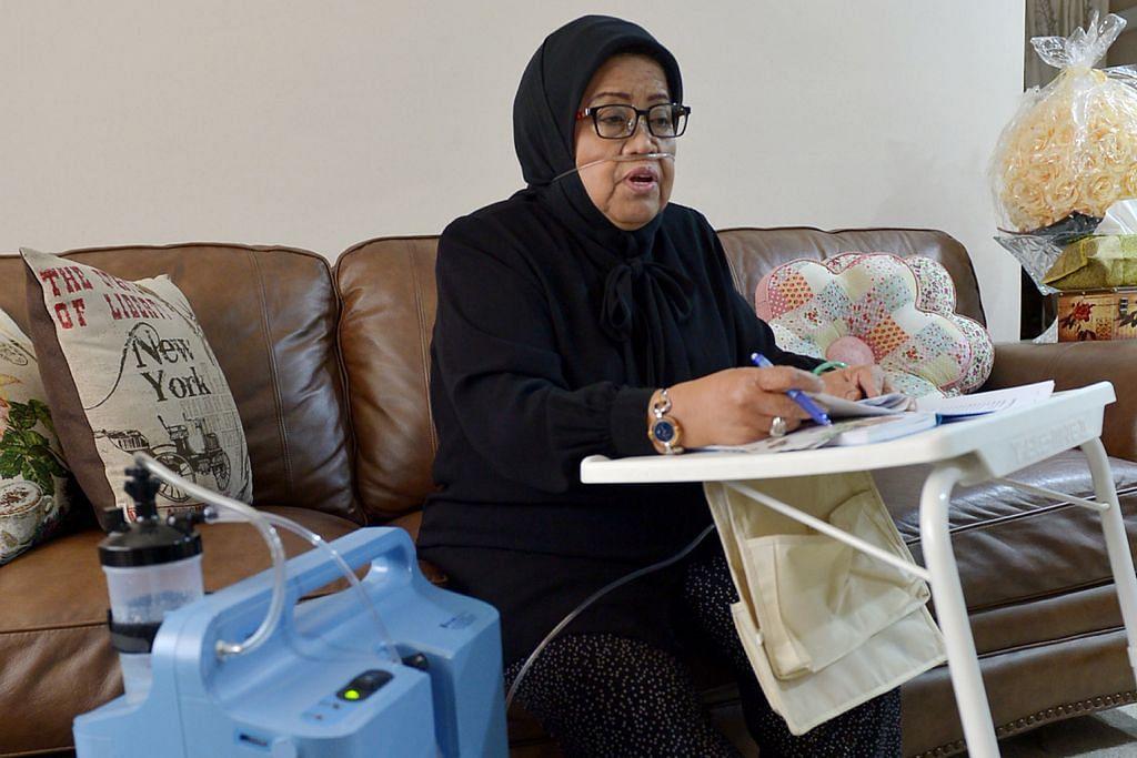 Kurang sihat tapi Mami Asmah masih bertarawih dan jadi relawan