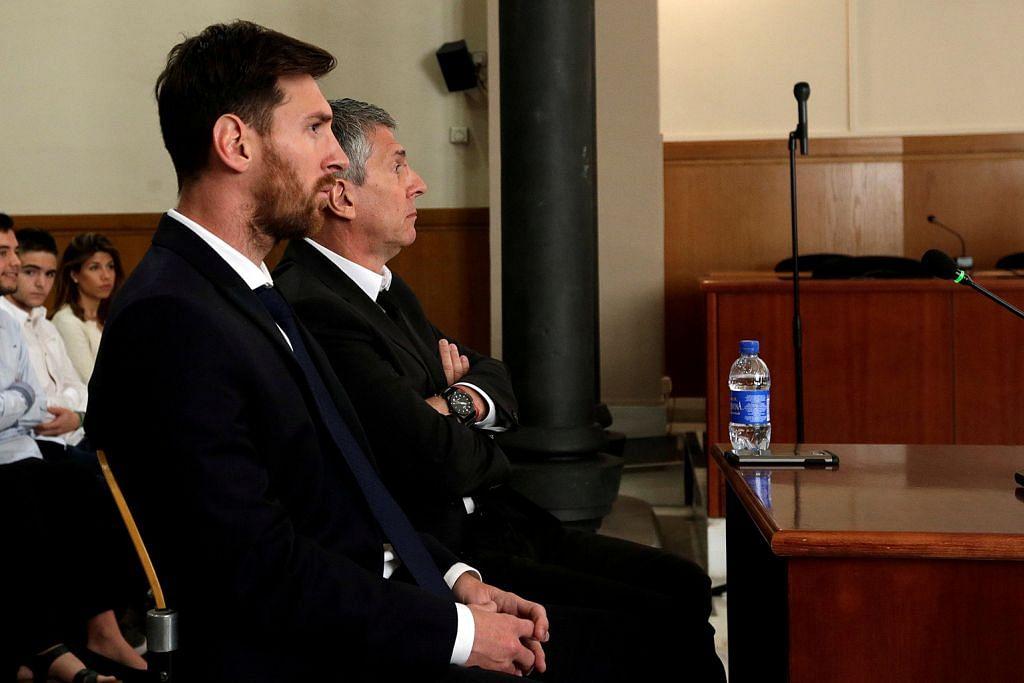 Messi, bapa dihukum penjara kerana tipu cukai