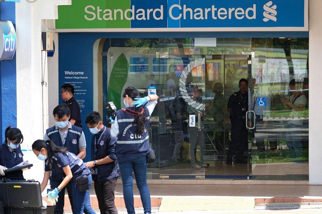 Polis siasat rompakan bank di Holland Village